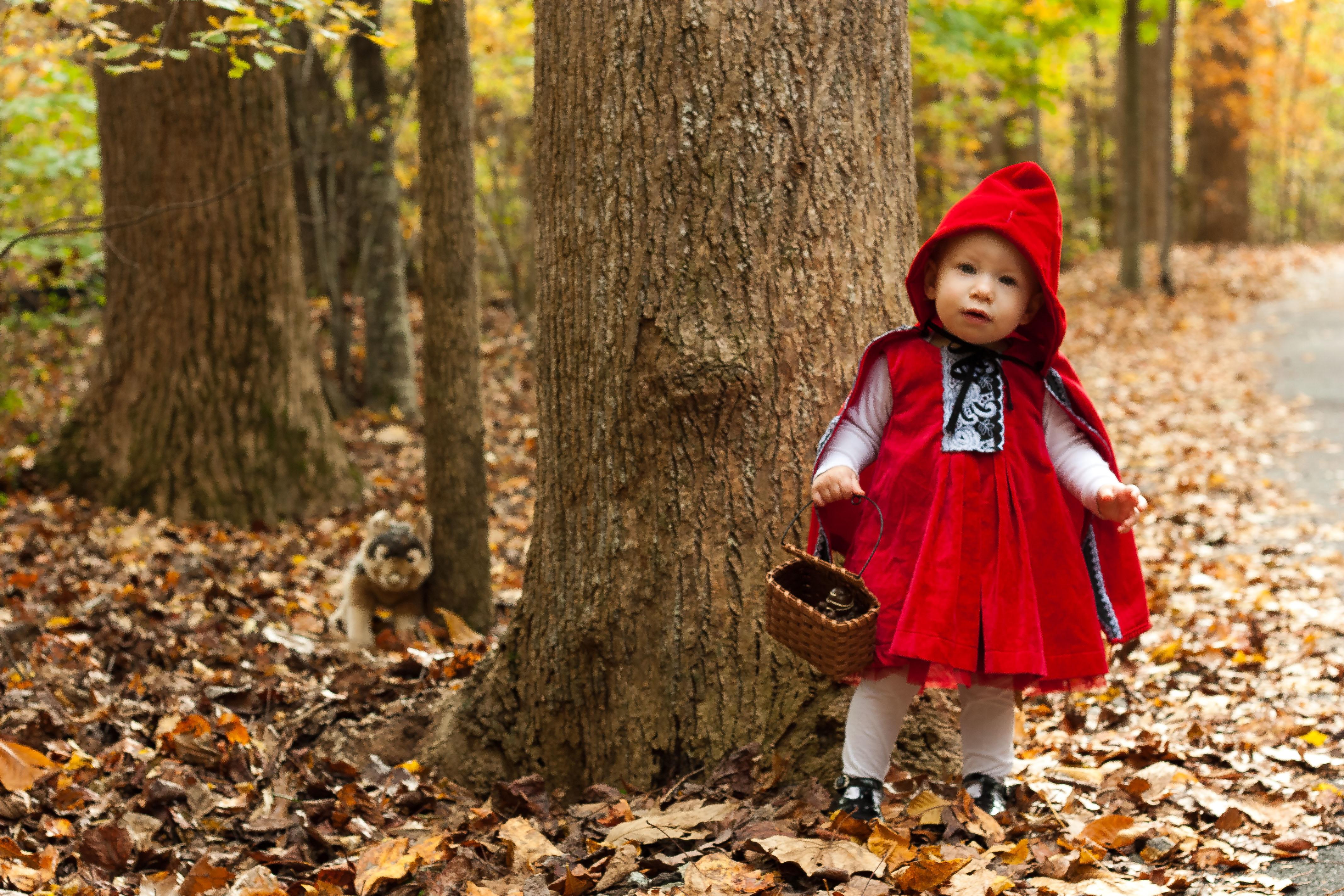 Little Red Riding Hood Thrift Aesthetic